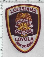 Loyola Peace Officer (New Orleans, Louisiana) 1st Issue shoulder patch