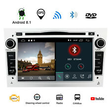 "7"" Android 8.1 Car DVD Players Audio GPS For Opel Vauxhall Vextra Astra Corsa UK"