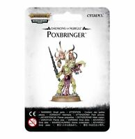 Poxbringer Herald of Nurgle Warhammer 40K Age of Sigmar  Chaos Daemons