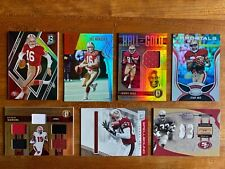 49ers SP/Relics (x7) Lot. Joe Montana, Jerry Rice, Deebo Samuel, Roger Craig 🔥