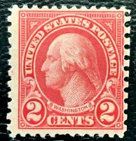 1923 US Stamp SC#579 2c Washington Mint LH/OG