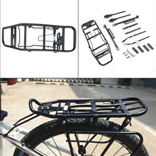 Alloy Rear Bicycle Pannier Rack Carrier Bag Luggage Cycle Mountain Bike UK