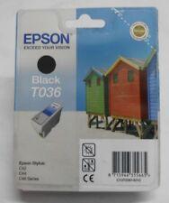 Epson t036 cartucho Black para c42 c44 c46 c13t03614010