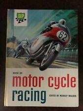 BOOK OF MOTOR CYCLE RACING - STANLEY PAUL - H/B - 1960 - £3.25 UK POST