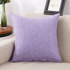 "Solid Colors Cotton Cushion Cover Home Decor Sofa Car Throw Pillow Case 16""*16"""