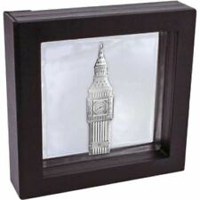 The 2016 Big Ben Shaped Nickel Proof Silver Coin in a box