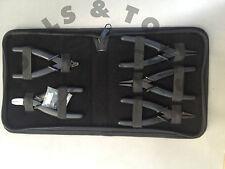 Economia 5 PEZZI SLIM LINE PINZE KIT / Set fabbricazione di litte gioielli wire strumenti con Custodia
