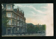 Wales Glamorgan Glam BARRY Hotel Broad St Used 1916 PPC
