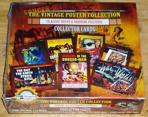 Breygent Classic Sci-fi & Horror Posters Series 1 Sealed Box of Cards (2007)