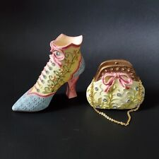 Home Interiors & Gifts Let's Play Dress-up Shoe Purse Handbag 2002 #11145