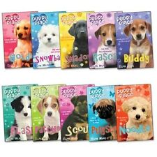 Puppy Place Ellen Miles Pack 10 Books-Goldie; Snowball; Shadow; Rascal; Buddy; F