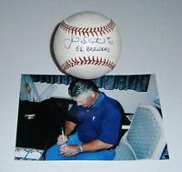 1982 BREWERS Jim Slaton signed baseball w/ '82 Brewers AUTO Autographed Milwauke