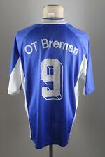 adidas vintage Shirt OT Bremen Trikot 90er Shirt Gr. XL #9 jersey 90s blau VC2