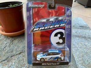 Greenlight Road Racers 2012 Ford Focus ST on card