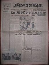 LA GAZZETTA DELLO SPORT 17/6/1967   calcio  Juventus 0  Dinamo Kiev 0