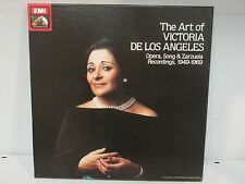"The Art of Victoria De Los Angeles 1949-1969, x3 LP's 12"" box set  /RECSET2EX"
