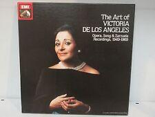 """The Art of Victoria De Los Angeles 1949-1969, x3 LP's 12"""" box set  /RECSET2EX"""