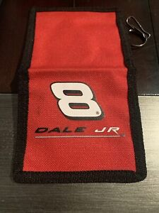 Rare Nascar #8 Backpack & Luggage Tag New Bi-Fold Dale Earnhardt Jr. Free Ship