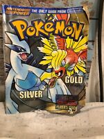 Official Nintendo Power Pokemon Gold & Silver Version Player's Guide Gameboy Vtg