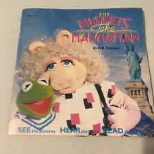 The Muppets Take Manhattan story book and 7 inch vinyl record audio book