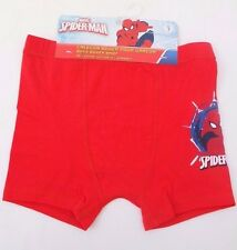 Marvel Comics Spider-Man Kids Boys Underwear Boxer Briefs Red Size 7 NWT