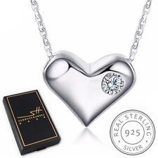 Herz Kette Halskette 925 Sterling Silber Damen +Etui, Schmuckhandel Haak®