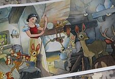 Disney Snow White Tidying Up Toby Bluth Artwork 500 Pc Puzzle new sealed bag
