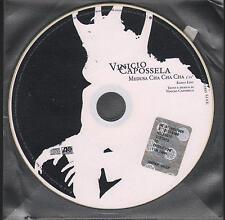 "VINICIO CAPOSSELA - RARO CDs PROMO "" MEDUSA CHA CHA CHA """