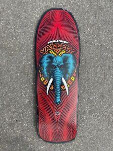 NOS 1988 Powell Peralta Mike Vallely Elephant Skateboard deck vintage