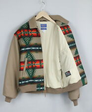 PENDLETON THINSULATE 3M WESTERN WEAR Men M Wool Blend Aztec Bomber Coat 21047_JS