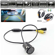 7 IR LED Wireless Car Rear View Parking Reversing Camera Night Vision Universal