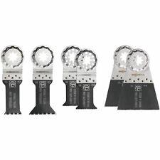 Fein 35222942080 mejor De Corte E 6 piezas Conjunto de herramientas de hoja de Sierra Oscilante Bimetal