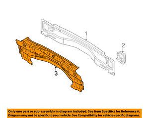 FORD OEM 12-18 Focus Rear Body-Inner Panel BM5Z5840320B