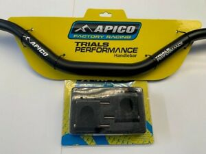 TRIALS APICO OVER SIZE HANDLEBARS AND CLAMPS TWINSHOCK-PRE65