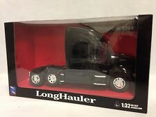 Kenworth T700 Truck Cab, 1:32 Scale Diecast, Collectible, New Ray Toys, Black