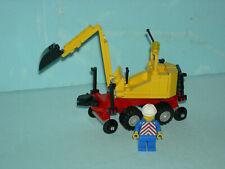 LEGO-Eisenbahn #4525 - Zweiwege-Bagger (Straße/Schiene) !!!