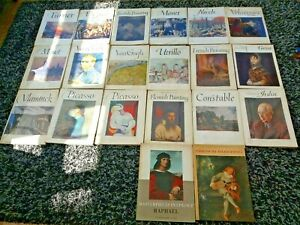 Large Collection Of 20 Art Books Inc. Express Art Books Van Gogh, Picasso, 1960