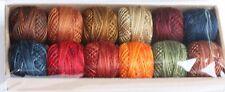 Valdani Perle Cotton #8 Floss/Designer Assortment/All Seasons Prairie Moon Primi