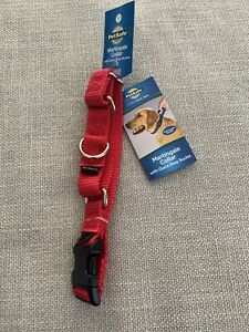 """PetSafe Martingale Collar with Quick Snap Buckle 3/4"""" Red Small 8""""-12"""""""