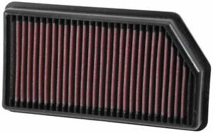 K&N Hi-Flow Performance Air Filter 33-3008 fits Hyundai i30 1.6 CDi Active (P...