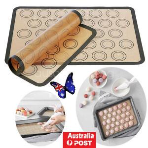 30 Cavities Macaron Baking Mat Non Stick Silicone Cake Macaroon Mould Pad Sheet