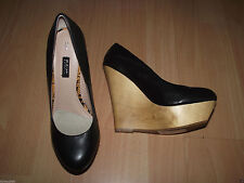 Wedge 100% Leather Upper Shoes for Women NEXT