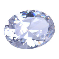 Gigantic Unheated 56.58ct White Sapphire 18X25mm Oval Cut AAAA+ Loose Gemstone
