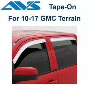 Auto Ventshade 194812 In-Channel Ventvisor Side Window Deflector 4-Piece Set for 2018-2019 GMC Terrain