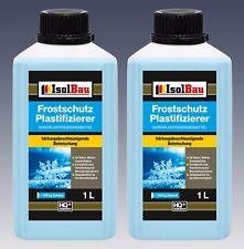 2 L Frostschutz Plastifizierer  Beton-Zusatzmittel - Betonverflüssiger Top Ware