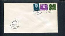 FDC (Philato W0) blanco envelop  met nvph 774-776, fluoriserende zegels;