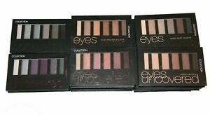 Collection Eyes Uncovered Eyeshadow Palette~ Nudes & Smokey Palettes (New Stock)