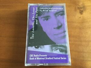 Brian Bedford cassette The Lunatic, The Lover & The Poet - Shakespeare *RARE*
