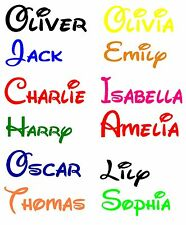 Personalized Disney Boys or Girls Name Words Vinyl Wall Sticker Decal Bedroom N2