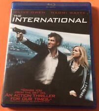 The International (Blu-ray, 2009) Canadian